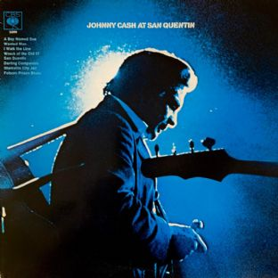 Johnny Cash - Johnny Cash At San Quentin (LP) (G/G++)